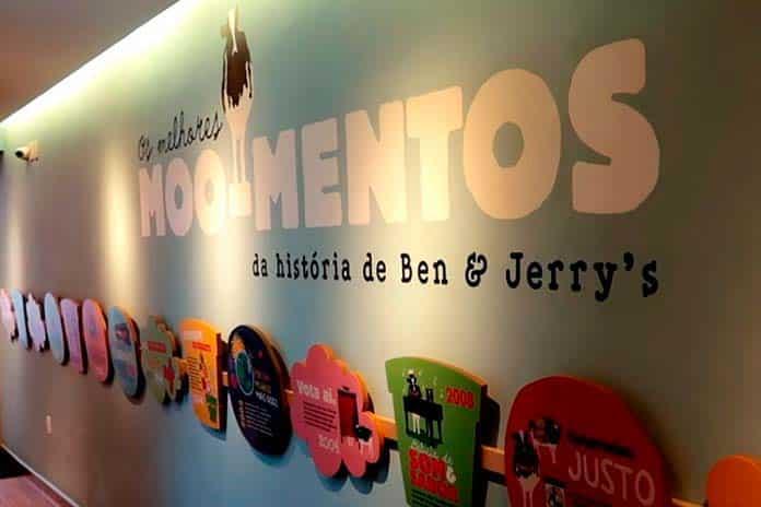 Por dentro da Loja da Ben & Jerry's na Rua Oscar Freire