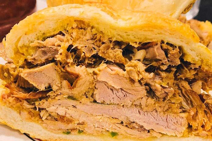 Sanduíche de Pernil do Mercado da Lapa